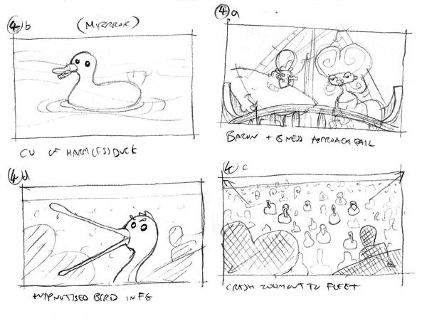Cinematic Storyboards